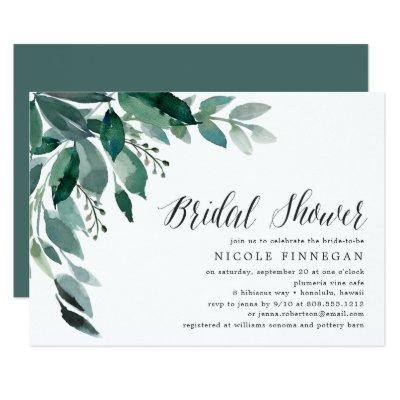 Abundant Foliage | Bridal Shower