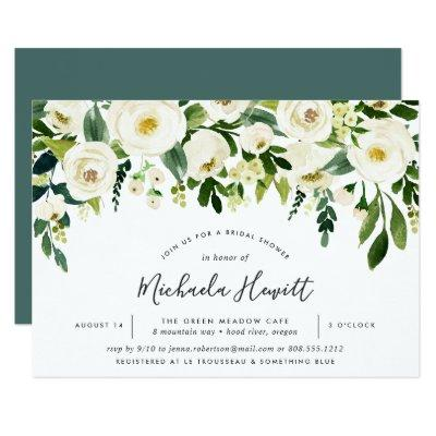 Alabaster Floral Bridal Shower