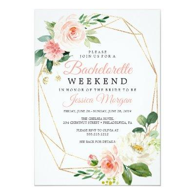 Bachelorette Weekend Itinerary Airy Blush