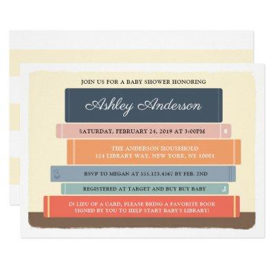 Book Theme Library Baby Shower