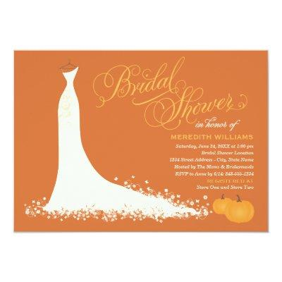 Bridal Shower  | Elegant Wedding Gown