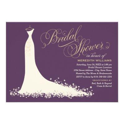 Bridal Shower  | Elegant Wedding Gown Custom