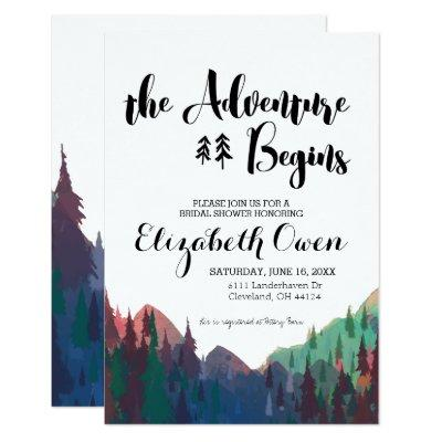 Bridal Shower  - Mountain Theme