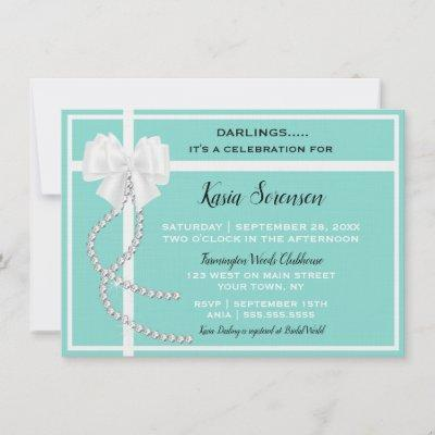 Bride Co Bling Darling Baby Bridal Shower Party