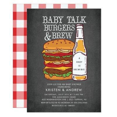 Burgers & Brew Couples Baby Shower