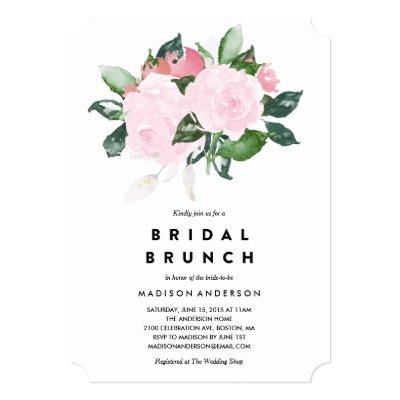 Chic Romance | Bridal Shower Brunch