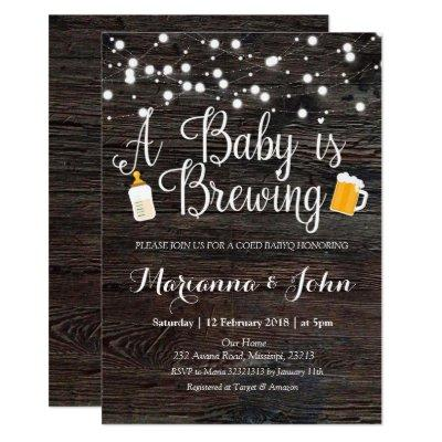 Co Ed Baby is brewing shower