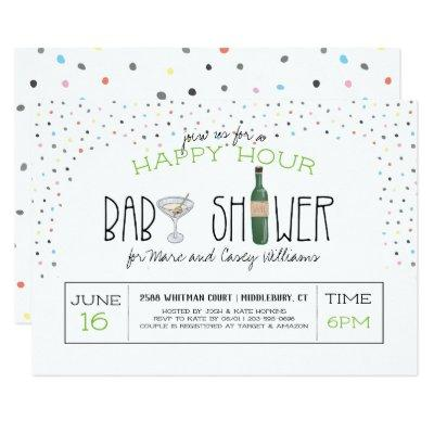 Couples Baby Shower | Happy Hour