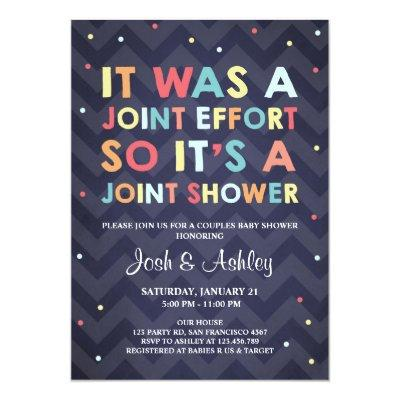Couples Baby Shower  Coed Shower Joint