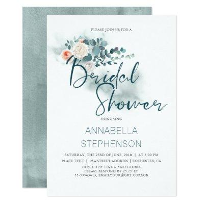 Eucalyptus | Watercolor Greenery Bridal Shower