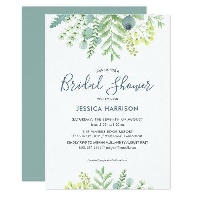 Fall Eucalyptus Floral Bridal Shower