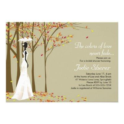 Fall in Love - Autumn Bridal Shower