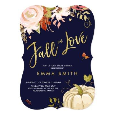 Fall in Love Bridal shower  Baby Autumn