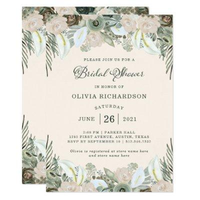 Foliage and Floral | Blush Pink Bridal Shower