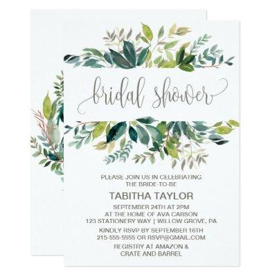 Foliage Bridal Shower