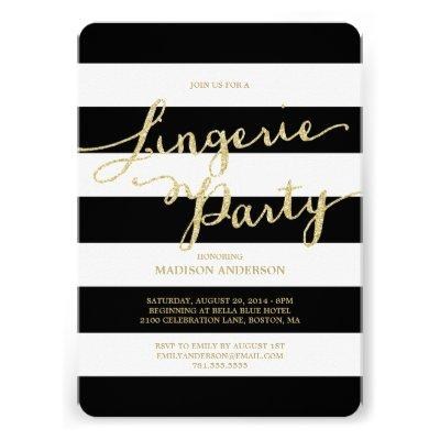 Glitter and Glam | Lingerie Party