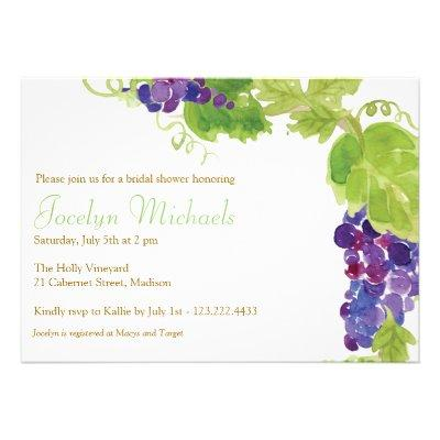 Grapes on the Vine Party