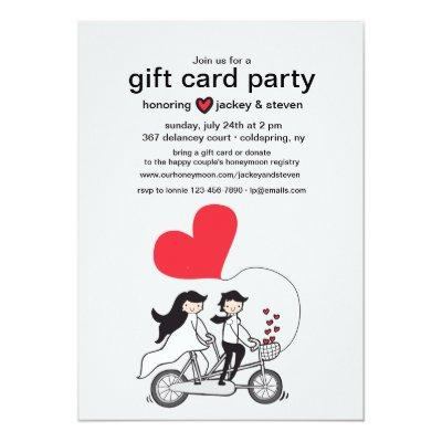 In Love Gift  Party Invitation
