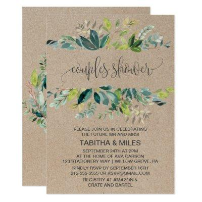Kraft Foliage Couples Shower