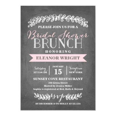 Laurel Brunch | Bridal Shower Invitations