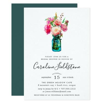 Peony Bouquet Bridal Shower