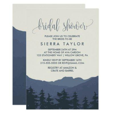 Retreat to the Mountains Bridal Shower