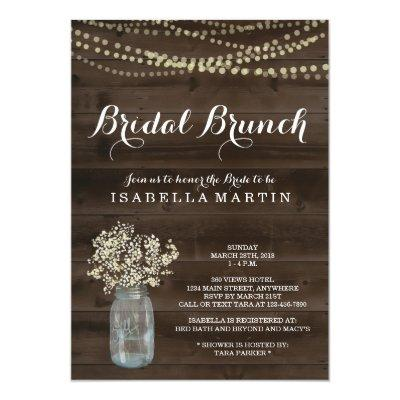 Rustic Bridal Brunch