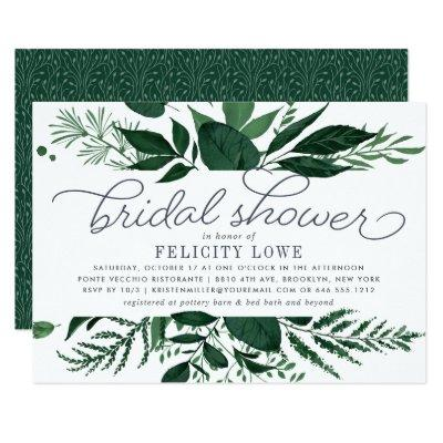 Wild Forest Bridal Shower