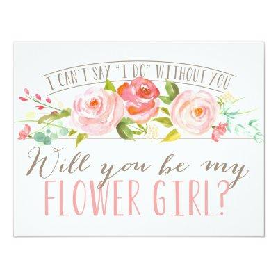 Will You Be My Flower Girl   Bridesmaid