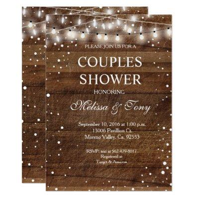Winter Couple Shower