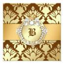 311-Damask Shimmer Queen Sweet 16 Chocolate