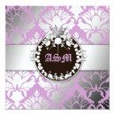 311-Damask Shimmer Queen Sweet Sixteen Purple