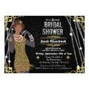 African American Flapper Bridal Shower