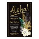 Aloha Bridal Shower , Faux Gold