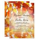 Autumn Leaves Fall Bridal Shower