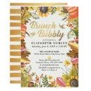 Autumn Leaves Pumpkin Brunch Bubbly Bridal Shower