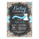 Baby its Cold Outside Polar Bear Boy Baby Shower