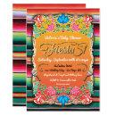 Baby Shower Mexican Fiesta Party Gold Glitter