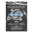 BabyQ BBQ Couples Shower Coed Baby Shower Blue
