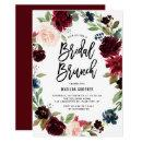 Boho Watercolor Autumn Floral Wreath Bridal Brunch