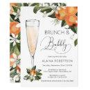 Bridal Brunch and Bubbly Orange Blossom Mimosa Invitation
