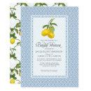 Bridal Shower Citrus Garden Lemon Trellis Pattern