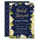 Bridal Shower , Customize Floral w/ Gold