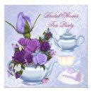 Purple Floral Tea Party