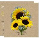 BRIDE & CO Kraft Autumn Bride Sunflower