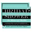 BRIDE & CO. Tiffany Theme Bridal Shower Invitations