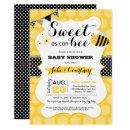 Bumblebee Sweet As Can Bee Baby Shower