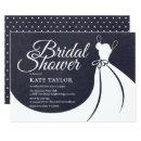Chalkboard Bridal Shower Pretty Gown