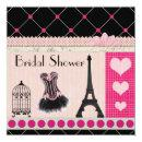 Chic Eiffel Tower Pink Paris Bridal Shower
