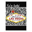 Chic Hip Las Vegas Bachelorette Party Invites